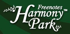 freenotes harmony park logo
